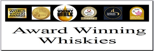 Award Winning Whiskies