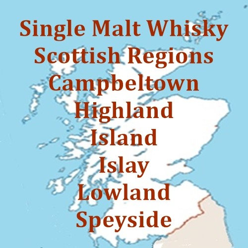 Scottish Single Malt by Whisky Regions