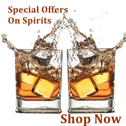 special offers on spirits