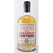Arkansas Lightning Apple Pie Flavoured Moonshine from the Rocktown Distillery buy online at specialist whisy shop whiskys.co.uk Stamford Bridge York