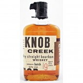 Knob Creek Bourbon Whiskey 9 year old 50% Jim Beam Small batch bourbons Available on line at specialist whisky shop whiskys.co.uk Stamford Bridge York