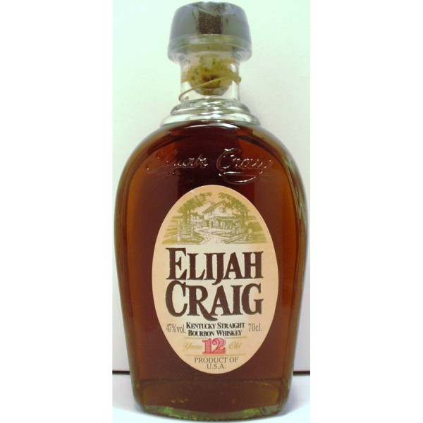 Elijah Craig 12 year old Bourbo