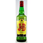 J&B Rare Blended Scotch Whisky one of the worlds oldest brands available from specialist whisky shop whiskys.co.uk Stamford Bridge York