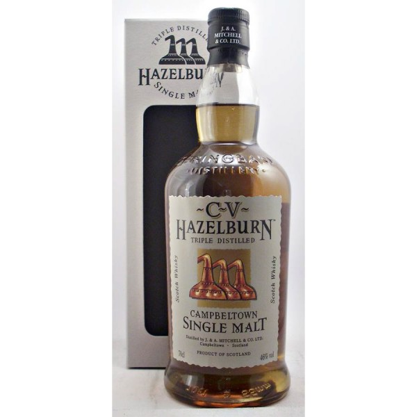 hazelburn cv single malt scotch whisky 46  70cl