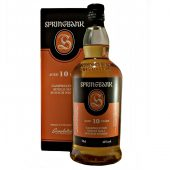 Springbank 10 year old Single Malt Whisky at whiskys.co.uk
