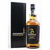 Springbank 1997 1st Batch Single Malt Scotch Whisky Available to buy online at specialist whisky shop whiskys.co.uk Stamford Bridge York