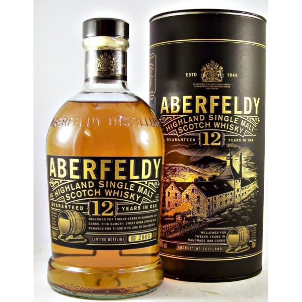 Aberfeldy-12-year old whisky