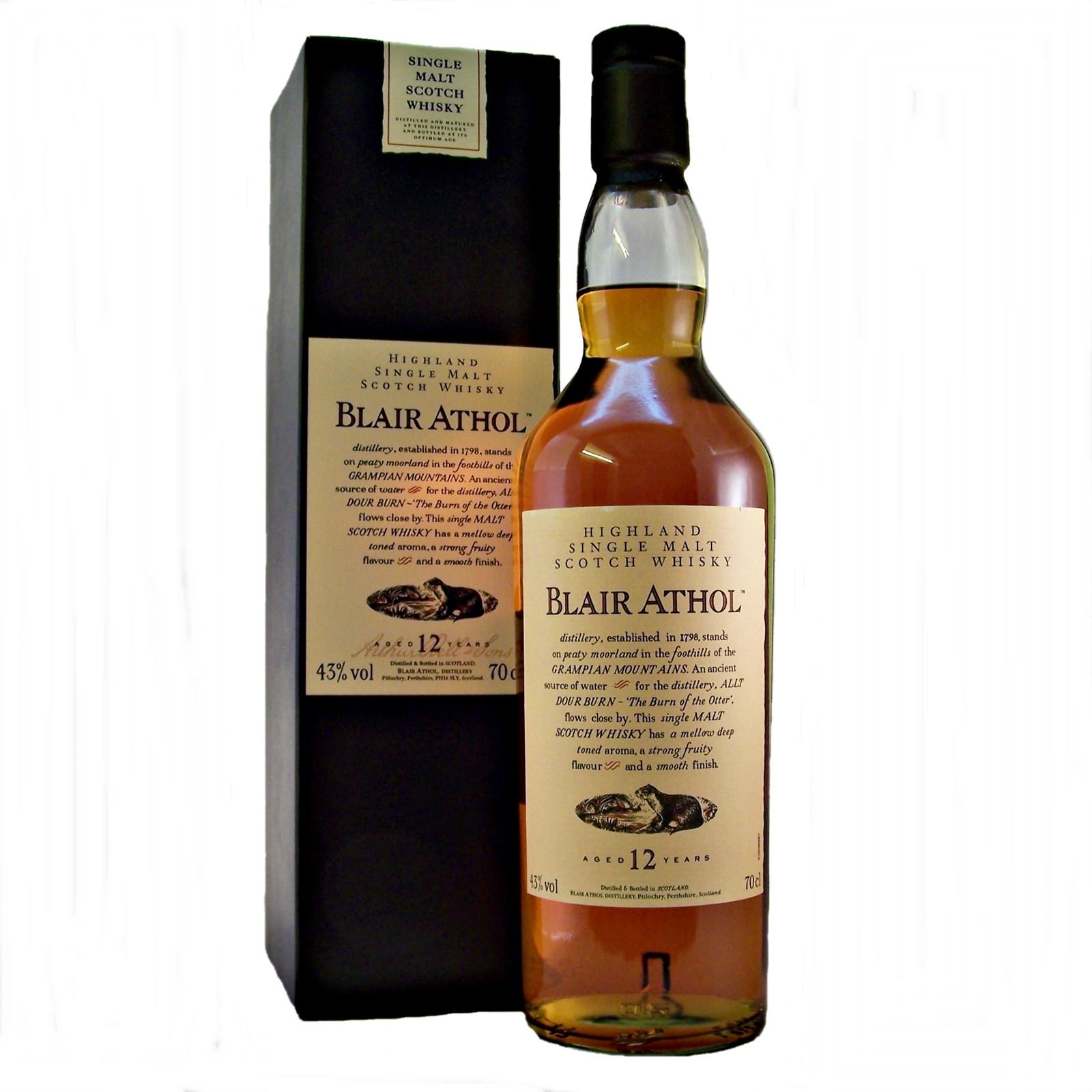 Blair Athol 12 Year Old Whisky