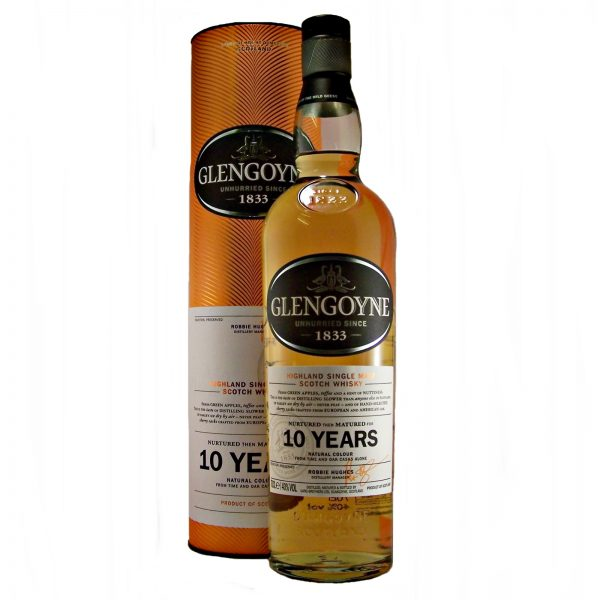 Glengoyne 10 year old Malt Whisky