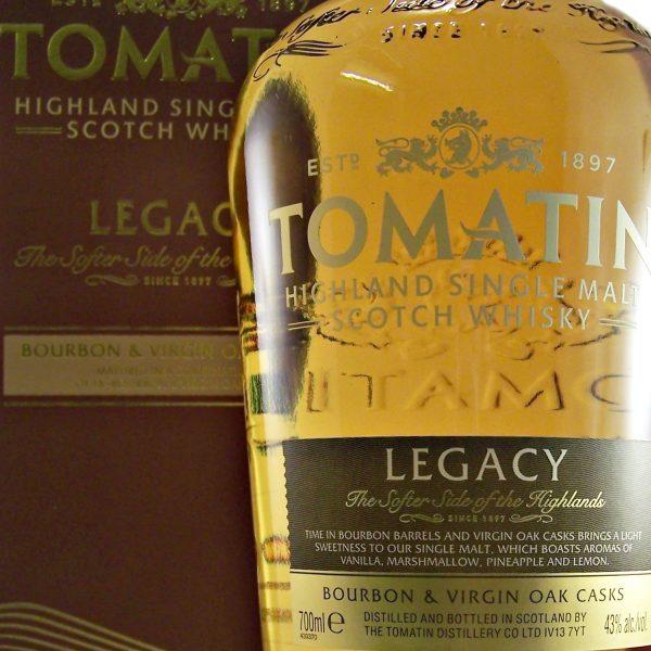 Tomatin Legacy Single Malt Whisky Bourbon Casks