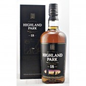 Highland Park 18 year old (Old Style Square box) available to buy online from specialist whisk shop whiskys.co.uk Stamford Bridge York
