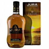 Jura 10 year old Origin Whisky a hint of smoke gently enriches available to buy online from specialist whisky shop whiskys.co.uk Stamford Bridge York