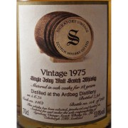 Ardbeg 1975 Signatory vintage 18 year old single malt whisky available to buy online at specialist whisky shop whiskys.co.uk Stamford Bridge York