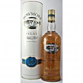 Bowmore 10 year old malt whisky Discontinued screen print bottle available to buy online specialist whisky shop whiskys.co.uk Stamford Bridge York