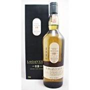 Lagavulin 12 year old 1st Edition Single Malt Whisky Obsolete distillery bottling by Diageo avalable to buy online specialist whisky shop whiskys.co.uk Stamford Bridge York