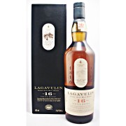 Lagavulin 16 year old Malt Whisky Richly peaty, deep, smoky flavour available to buy online from specialist whisky shop whiskys.co.uk Stamford Bridge York