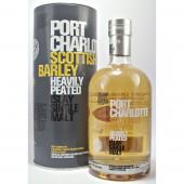 Port Charlotte Scottish Barley Heavily peated Islay Single Malt Whisky from the Bruichladdich Distillery buy online from whiskys.co.uk Stamford Bridge York