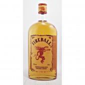 Fireball Liqueur Canadian whisky blended with hot cinnamon mixer available from specialist whisky shop whiskys.co.uk Stamford Bridge York