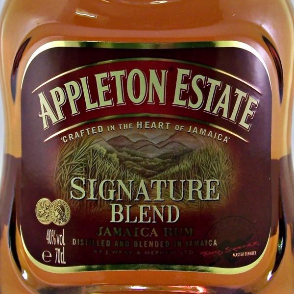 Appleton Signature Blend Jamaican rum