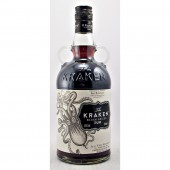 The Kraken Black Spiced Rum blended spice, caramel natural flavours available to buy online from specialist whisky shop whiskys.co.uk Stamford Bridge York