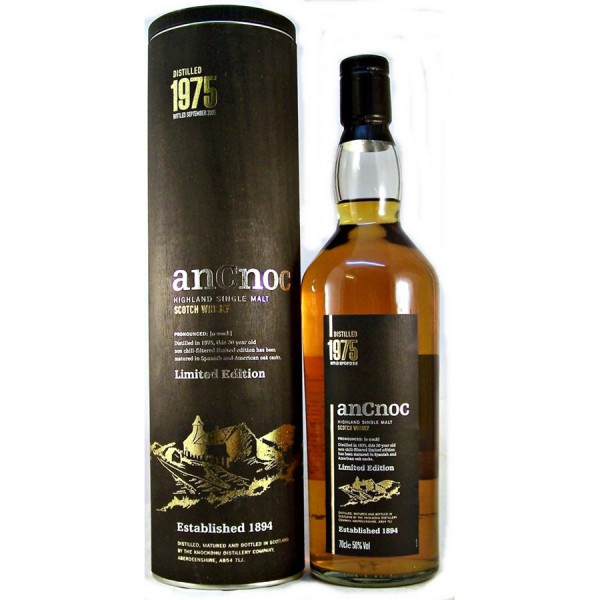 AnCnoc-1975-30 year old whisky