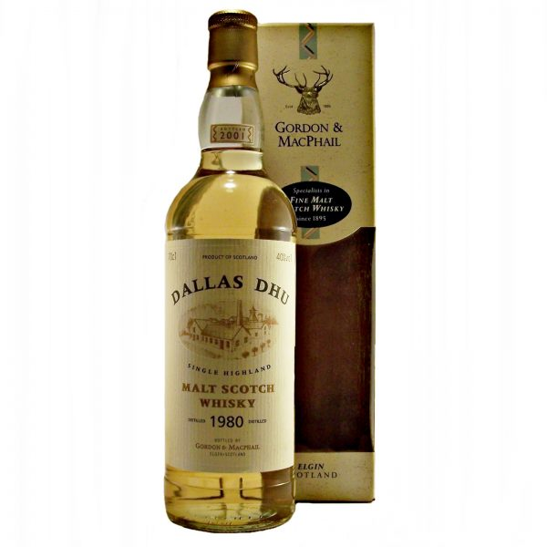 Dallas Dhu Malt Whisky 1982