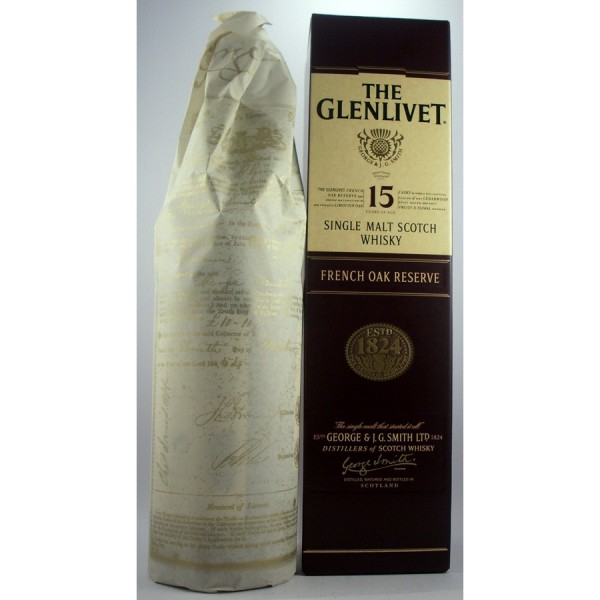 Glenlivet-15 French Oak Reserve Whisky
