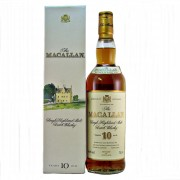 Macallan 10 year old Sherry wood 1990's discontiued distillery bottling available buy online from specialist whisky shop whiskys.co.uk Stamford Bridge York