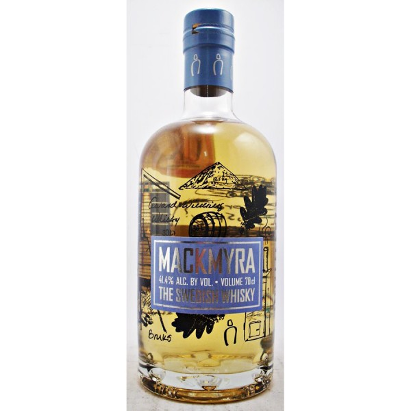 Mackmyra-Burks Swedish Whisky
