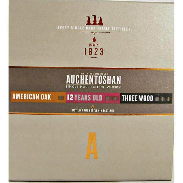 Auchentoshan-whisky triple set