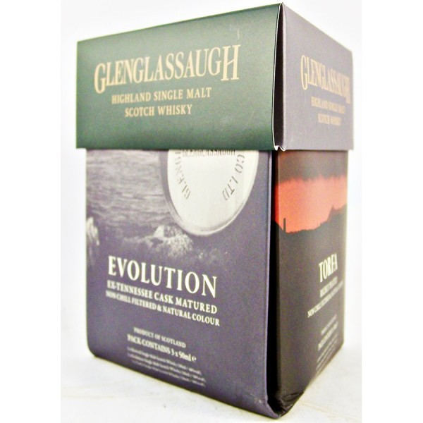 Glenglassaugh-Whisky miniatures