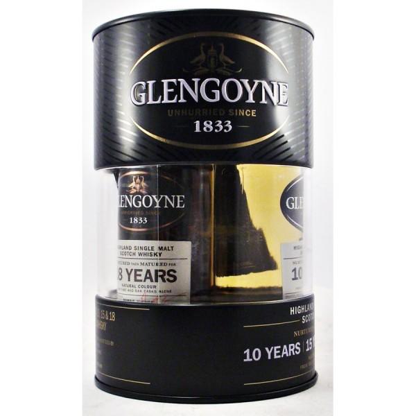 Glengoyne-whisky Triple gift set