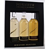 Penderyn Welsh Whisky Triple Tasting Pack 3* 5cl miniatures buy online specialist whisky shop whiskys.co.uk Stamford Bridge York