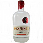 Pickerings Gin at the Old Royal Dick. available at whiskys.co.uk.