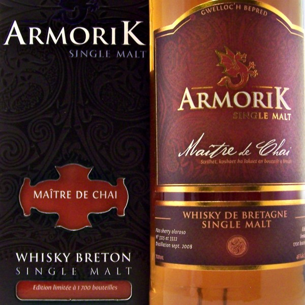Armorik Maitre de Chai French Single Malt Whisky