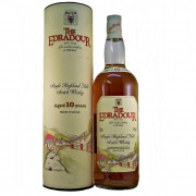 Edradour Single Malt Whisky aged 10 years. Old Style,