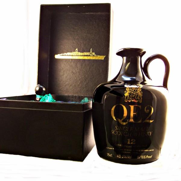 QE2 Ceramic Whisky Decanter