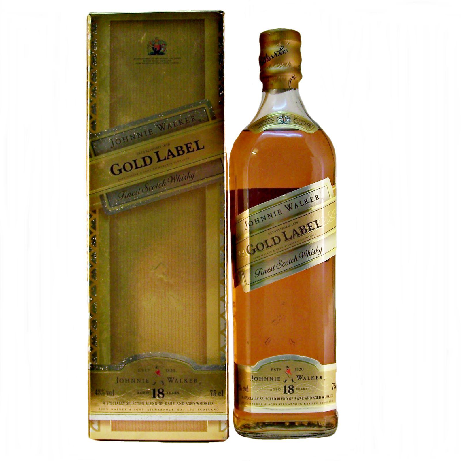 Johnnie Walker Gold Label Blended Scotch Whisky