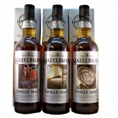 Hazelburn 1st edition Whisky set from whiskys.co.uk