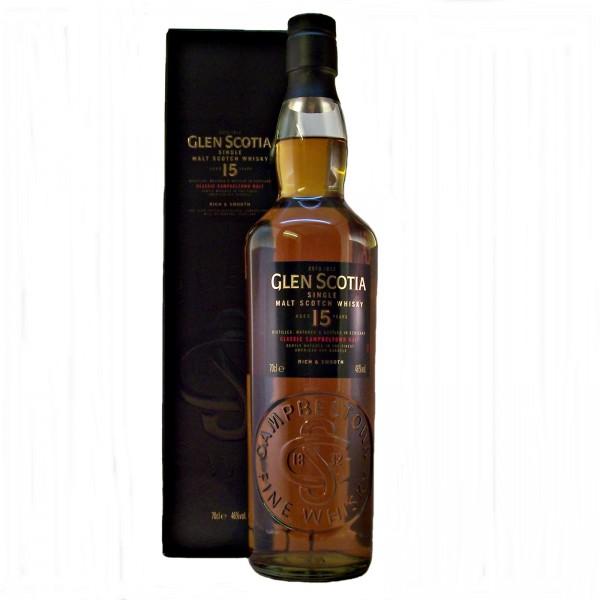Glen Scotia 15 year old Malt Whisky