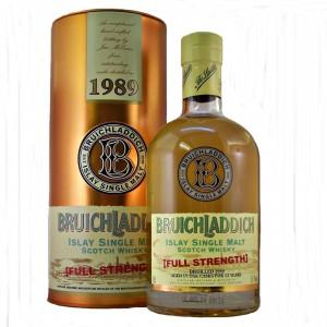 Bruichladdich 1989 Full Strength Single Malt Whisky from whiskys.co.uk