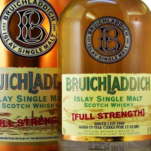 Bruichladdich 1989 Full Strength Whisky from whiskys.co.uk