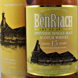 Benriach Malt Whisky Sauternes wood from whiskys.co.uk