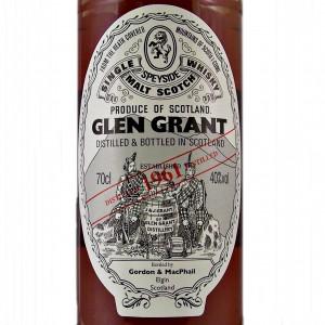 Glen Grant 1961 Single Malt Whisky online at whiskys.co.uk