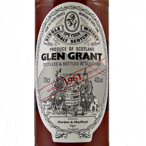 Glen Grant 1961 Single Malt Whisky 2011