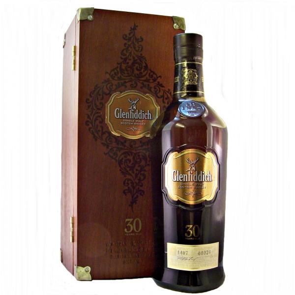 Glenfiddich 30 year old Single Malt Whisky