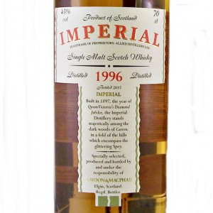 Imperial Single Malt Whisky 1996 from whiskys.co.uk