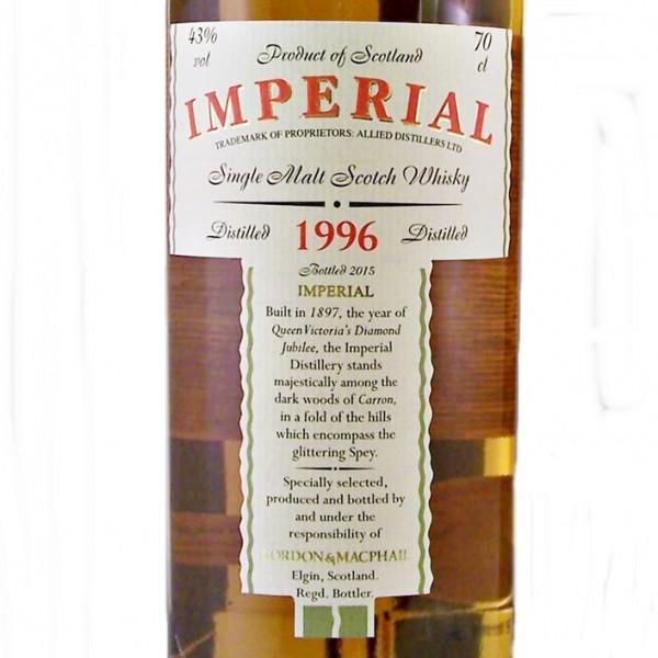 Imperial Single Malt Whisky