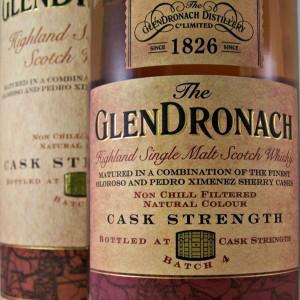 Glendronach Cask Strength Whisky batch 4 from whiskys.co.uk