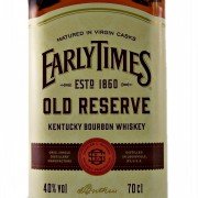 Early Times Bourbon Whiskey